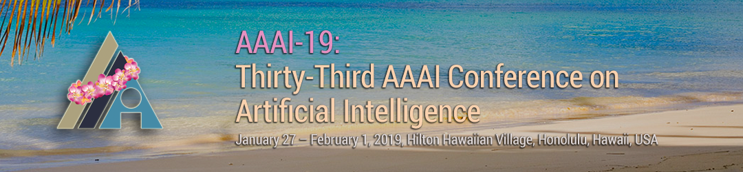 AAAI-19 Tutorial Forum | AAAI 2019 Conference